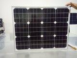 50W TUV Cer-anerkannter monokristalliner Solarbaugruppen-Sonnenkollektor