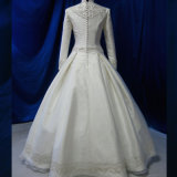 Vestido de casamento muçulmano turco Handmade do vestido nupcial