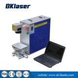 Acero inoxidable/hierro y aluminio Mini marcadora láser de fibra