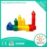 아이들 플라스틱 장난감 CE/ISO 증명서를 가진 지적이는 건물 벽돌 장난감
