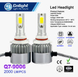 Farol H1 H3 H7 H8 H11 H4 H13 9005 do diodo emissor de luz do carro C6 9006 880 5202 9012 farol do automóvel do bulbo do carro do diodo emissor de luz de 72W 7600lm 6000K