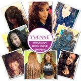 Estensione brasiliana dei capelli umani del Virgin di Yvonne