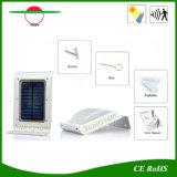 옥외 태양 정원 빛 PIR 센서 벽 램프 방수 LED