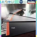 Capa termoendurecible del polvo del negro del soporte del shell del metal TV del surtidor de China