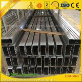 Extrusion creuse rectangulaire en aluminium expulsée pour la construction de mur rideau