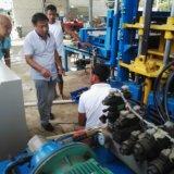 Automatischer hydraulischer konkreter Gehsteig-Höhlung-Block, der Maschine herstellt