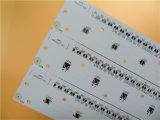 Placa PCB de alumínio 2,0mm 1 W/K condutividade térmica com HASL