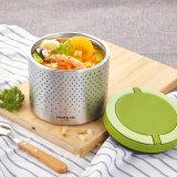 Vakuumisolierung Bento Mittagessen-Kasten 22133 des Edelstahl-1000ml doppel-wandiger