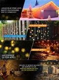 La stringa alimentata solare della palla di neve illumina 28.5FT l'illuminazione decorativa dei 50 del LED Chuzzle indicatori luminosi esterni leggiadramente della sfera per il giardino, la casa, il patio, il prato inglese, il partito e la festa