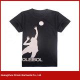 Camisetas por encargo del poliester de la impresión de la sublimación (R18)