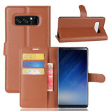 Luxux-PU-lederner Telefon-Kasten-Deckel für Samsung Note8