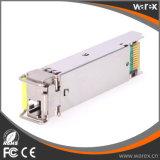 양립한 Cisco를 가진 BX 1550nm Tx/1310nm Rx 20km GLC-FE-100BX-D 100Base SFP BIDI 광학적인 송수신기
