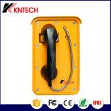 Téléphone VoIP Autodial de téléphone de téléphone industriel imperméable à l'eau avec du ce reconnu