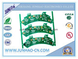 Auto Fr4 2layer PCB com placa PCB Double-Side Verde