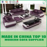 木の余暇の家具の本革のソファー