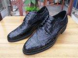Ботинки кожаный подошвы коровы типа Оксфорд самые лучшие Handmade кожаный