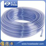 tube en plastique clair de PVC de 0.5mm