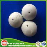 Bolas de cerámica perforadas, 22-90% bolas de cerámica inertes del alúmina, media de pulido