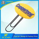 Marca de libro de goma modificada para requisitos particulares del PVC con cualquie diseño para el regalo de la promoción