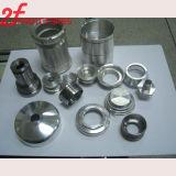 Creación de un prototipo/prototipo de aluminio del metal de la máquina de encargo del CNC