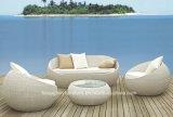Sofá de vime exterior com mobiliário de jardim almofada SOFA LAZER (TG-1260)