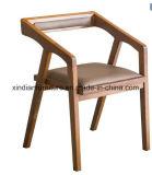 Les cendres de bois de chêne Restaurant nordique chaise en caoutchouc
