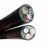 0.6/1kv 4X50mm2 de alumínio com isolamento de PVC bainha PVC cabo de alimentação
