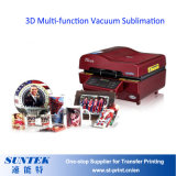 machine Combo-Chaleur-Appuyer-Chine de sublimation du vide 3D