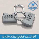 Cadeado impermeável do saco do cadeado da combinação do quadrado da segurança