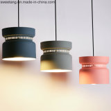 Casa de aluminio de diseño moderno lámpara colgante lámpara de araña