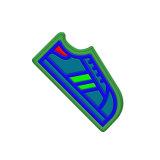 3D резиновые сувенирных фоторамок половина Cat холодильник магнита