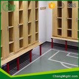 HPL/Woodの穀物の積層物の食器棚を形作るポスト