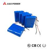 Lithiumli-Ionennachladbare Speicherbatterie Ce/RoHS/UL-18650