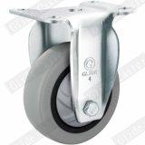 Mittlere Aufgabe einzelne tragende Tpp Fußrolle mit der Spitzenbremse (grau) (G3117)