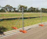 China-Hersteller passte modernen Art-Australien galvanisierten temporären Zaun an