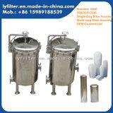 Carcaça de filtro industrial de alta pressão do saco do aço inoxidável do mícron 5um