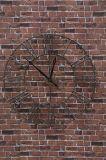 Orologio di parete d'attaccatura decorativo del metallo per la casa ed il giardino