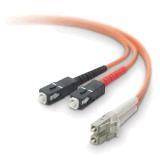 Cabo de correção de programa da fibra óptica do PC do Sc do LC