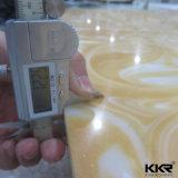 Piedra acrílico translúcido superficie sólida para el panel de pared