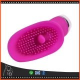 Vibrador Thrilling do G-Ponto do silicone da escova da lingüeta do clitóris de 30 velocidades para mulheres
