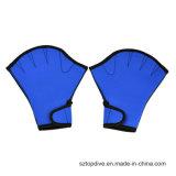 Propulsione aumentata attraverso i guanti di nuoto di addestramento di sport di acqua