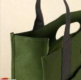 カスタムNon-Wovenは昇進のロゴの印刷のショッピング・バッグを袋に入れる
