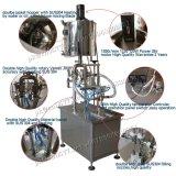Semi-Auto Pegar máquina de llenado con la tolva para Cosmética (GZA-2)
