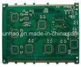 LED PCB con Double-Side para PCB 2 capas de máscara verde