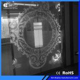 P3.9/7.5mm het Hoge Transparante Scherm van de Verhouding leiden van het Contrast voor Reclame
