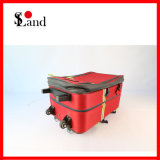 Kit de primeros auxilios de la emergencia médica con el bolso rodado de la carretilla
