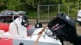 F40FWL-t-EFI EFI 40HP moteur marin à l'extérieur