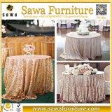 販売のための結婚式のホテルの宴会のローズのテーブルクロス