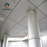 Panneaux de mur en aluminium suspendus en aluminium extérieurs décoratifs de construction de maison de placage de mur rideau