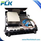 4ポートFTTHのプラスチックディバイダーの光ファイバ配電箱